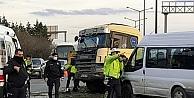 Anadolu Otoyolunda zincirleme trafik kazası ulaşımı aksattı