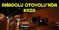 Anadolu Otoyolundaki kaza ulaşımı aksattı