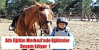 Atlı Eğitim Merkezinde Eğitimler Devam Ediyor