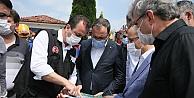 Bakan Kasapoğlu Sakaryadaki patlama alanını inceledi