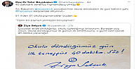 Bakan Selçukun ilk teneffüs twitine Kocaeliden pişmaniyeli destek