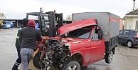 Başiskelede trafik kazası: 2 yaralı