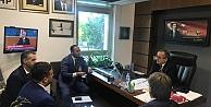 Başkan Akar, mecliste Gebzeli muhtarları ağırladı