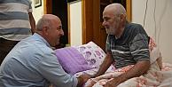 Başkan Bıyıktan Yaşlı Ve Hasta Ziyaretleri