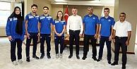 Başkan Büyükakın, Milli Karatecileri ağırladı