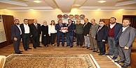 Başkan Karabacak Kedfeyi Ağırladı