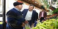 Başkan Karabacak Osmangazi Esnafını Ziyaret Etti