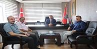 Başkan Karabacaktan Kaçara Hayırlı Olsun Ziyareti