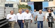 Başkan Köşkerden Sanayide Esnaf Ziyaretleri