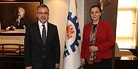 Başkan Köşkere Zonguldaktan konuk