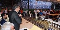 Başkan Şayir, Diliskelesinde Vatandaşla Buluştu