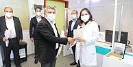 Başkan Şayirden sağlıkçılara bayram ziyareti