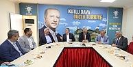 Başkan Tahir Akyüreki makamında konuk etti