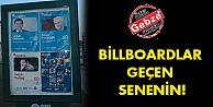Billboardlar geçen senenin!