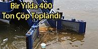 Bir Yılda 400 Ton Çöp