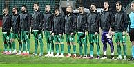 Brezilya takımı için saygı duruşu