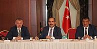 Büyükakın, Belediye Başkanları İstişare Toplantısına Katıldı