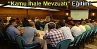 """Büyükşehir Personeline Kamu İhale Mevzuatı"""" Eğitimi"""