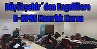 Büyükşehirden engellilere E-KPSS hazırlık kursu