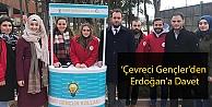 'Çevreci Gençlerden Erdoğana Davet
