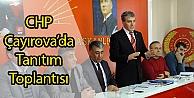 CHP Çayırovada Tanıtım Toplantısı