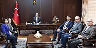 CHP Darıcadan, Aksoya ziyaret!