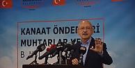 CHP Genel Başkanı Kılıçdaroğlu, Kocaelide kanaat önderleri ve muhtarlarla buluştu: