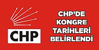 CHPde kongre tarihleri belirlendi