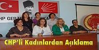 CHPli Kadınlardan açıklama