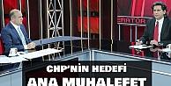 "CHPnin hedefi ana muhalefette kalmak"""