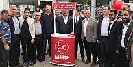 Cumhur İttifakı Darıcada MHP Standında Buluştu