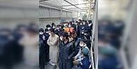 Darıcada 90 düzensiz göçmen yakalandı