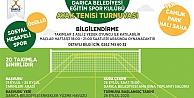 Darıcada Ayak Tenisi Turnuvası Düzenleniyor