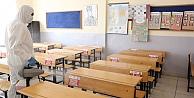 Darıcada okullar dezenfekte ediliyor