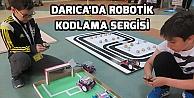 Darıcada robotik kodlama sergisi