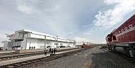 Demir İpek Yolunda 50 milyon ton yük taşınacak