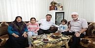 Demirci Çayırovalı Hacıları Ziyaret Ediyor