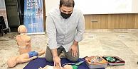 Dernek üyelerine 'Temel İlkyardım Eğitimi verildi