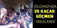 Dilovası'nda 35 düzensiz göçmen yakalandı