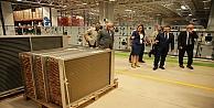 Dilovasında klima santrali üretim fabrikası açıldı