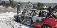 Dilovasında otomobil yangını