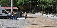 Diriliş Kampları beton yolla birbirine bağlandı