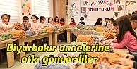 Diyarbakır annelerine Çayırovadan destek