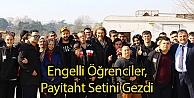Engelli Öğrenciler, Payitaht Setini Gezdi