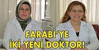 Farabiye iki yeni doktor!