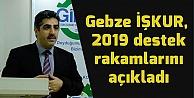 Gebze İŞKUR, destek rakamlarını açıkladı