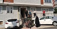 Gebzede bir apartmanda çıkan yangın itfaiye ekiplerince söndürüldü