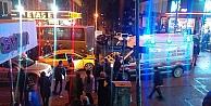 Gebzede halk ötobüsü ile taksi çarpıştı: 3 yaralı