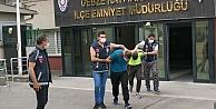 Gebzede kombi çalan hırsızlar İstanbulda yakalandı