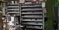 Gebzede marketten sigara hırsızlığı